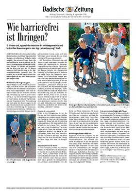 Pfänder Freiburg barrierefreies Ihringen