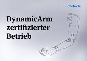 Sanitätshaus Pfänder Ottobock Zertifikat Dynamic Arm