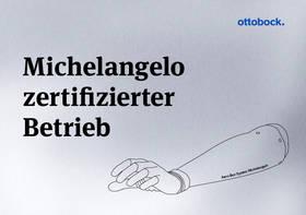 Sanitätshaus Pfänder Ottobock Zertifikat Michelangelo Hand
