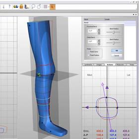 Sanitätshaus Pfänder 3D Technologie Canfit CAD